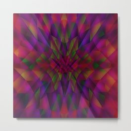 Abstract color Dream Metal Print