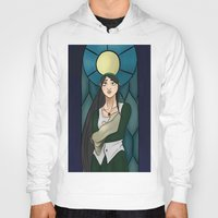 stained glass Hoodies featuring Stained Glass by Tar Pit