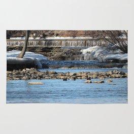 Winter Water Rug