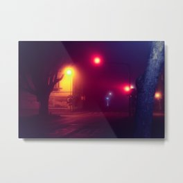 Traffic Lights / Bladerunner Vibes Metal Print
