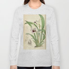Cochleanthes discolor Orchid 1855 Long Sleeve T-shirt