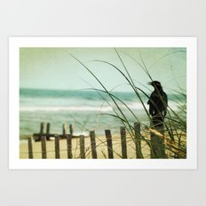 My Love The Sea Art Print