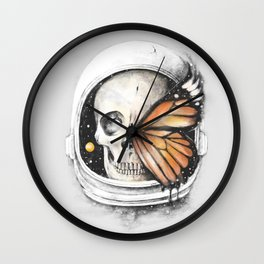 A Strange Existence of an Ending (A Space for a Beginning) Wall Clock