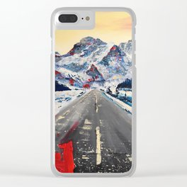 Only Grey Stays the Same Clear iPhone Case
