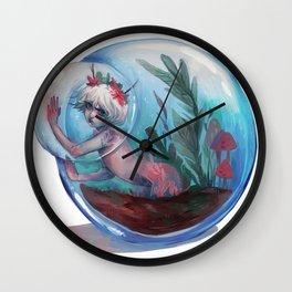 Claustrophobia Wall Clock