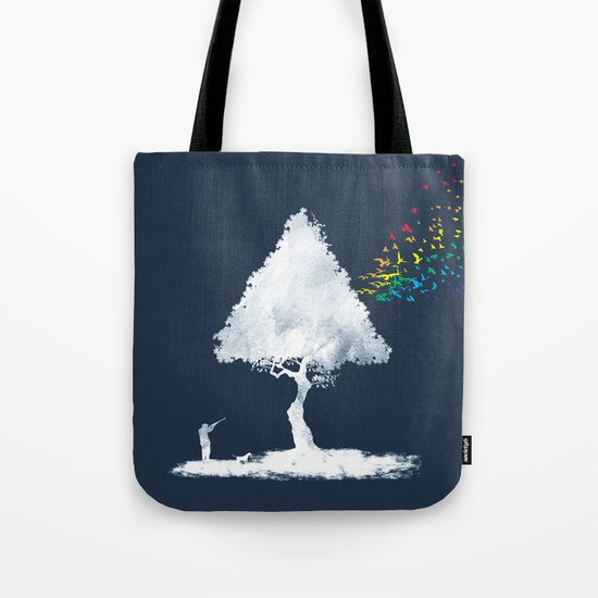 colourful hunting Tote Bag