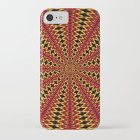 spanish iPhone & iPod Cases featuring Spanish sun by Bubblemaker