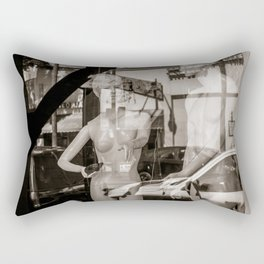 Adam & Eve on Hollywood Blvd. Rectangular Pillow