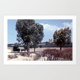 Carthage,Tunisa Art Print