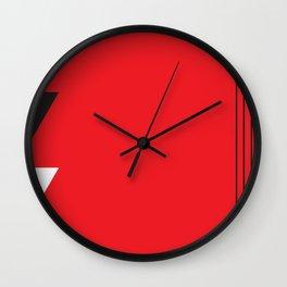 Geometric Calendar - Day 43 Wall Clock