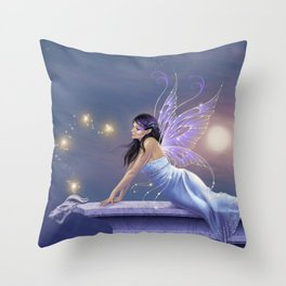 Twilight Shimmer Throw Pillow