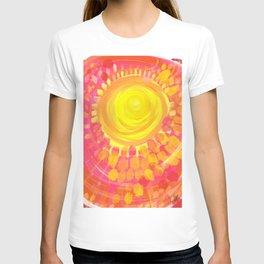Fireball sun T-shirt
