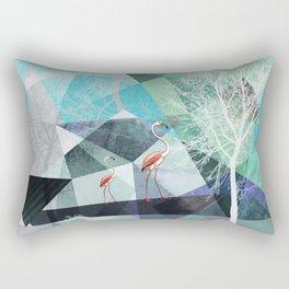 FLAMINGOS P19-A2 Rectangular Pillow