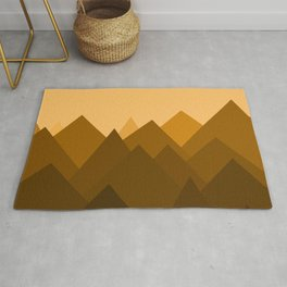 Abstract Sand Dunes Rug