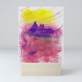 Venezia Canal Grande - SKETCH-ART Mini Art Print