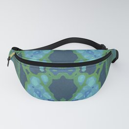 Art Nouveau Coastal Panel Fanny Pack
