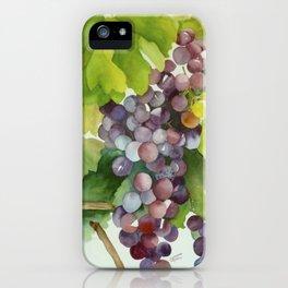 Wine on the Vine iPhone Case