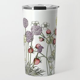 Medley of garden flowers Travel Mug