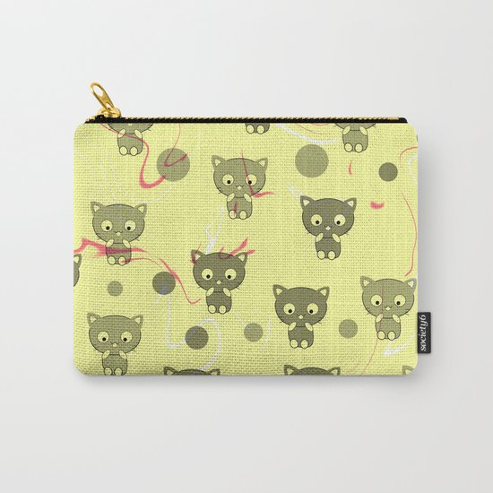 Cute happy kittens Carry-All Pouch