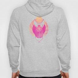 Egyptian Scarab – Pink Ombré Hoody