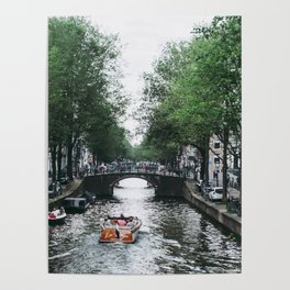 Canal Cruise Poster