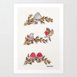 Bird no. 291: You Fill Me Up Art Print