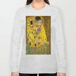 The Lovers Kiss After Klimt Long Sleeve T-shirt