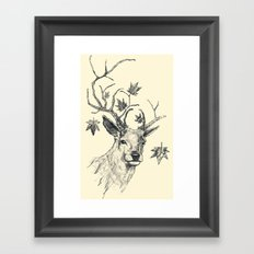 From Fall to Rise Framed Art Print