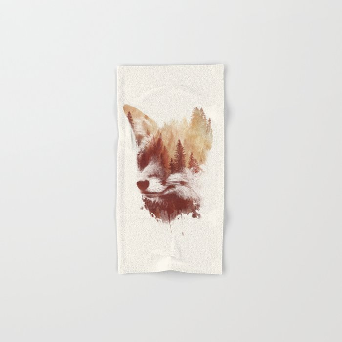 Blind fox Hand & Bath Towel