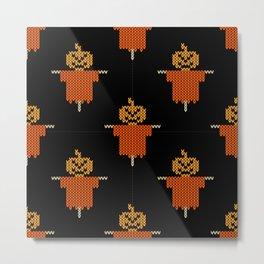 Halloween pattren Metal Print