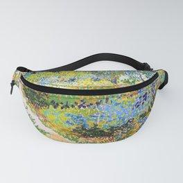 12,000pixel-500dpi - Vincent van Gogh - Garden At Arles, Flowering Garden With Path Fanny Pack