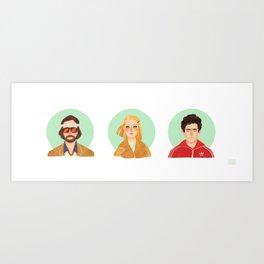 The Tenenbaums Art Print