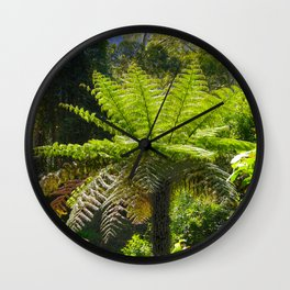 dicksonia antarctica Wall Clock
