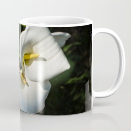 Close-up of Giant White Calla Lily Coffee Mug