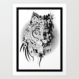 tigre extinction Art Print