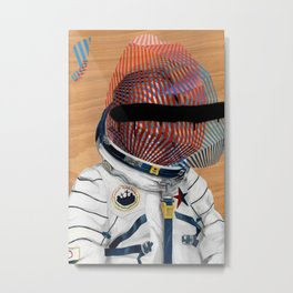 Spaceman No:2 Metal Print