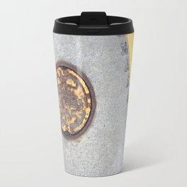 Yellow Curve Travel Mug