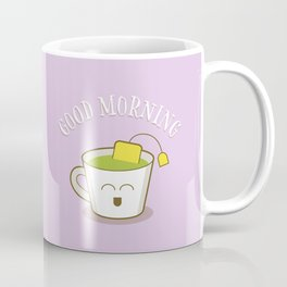 Good Morning Green Tea Lover Coffee Mug