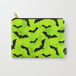 Bats and Green Toxic Waste Vapors Carry-All Pouch