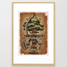 Yggdrasil Framed Art Print