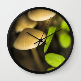 Forest treasures Wall Clock