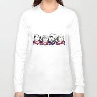 power rangers Long Sleeve T-shirts featuring Rangers by Kana Aiysoublood