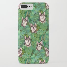 Pomsky Garden iPhone Case