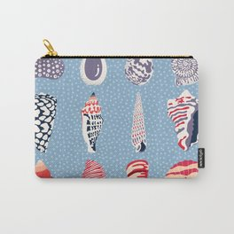 Shells - sea treasures Carry-All Pouch
