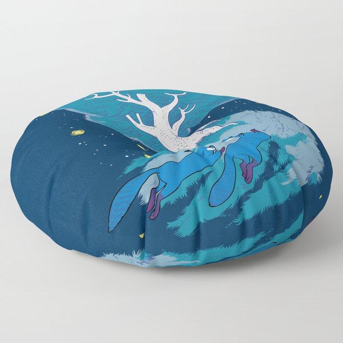 Fleet Foxes Floor Pillow