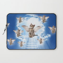 All Cats Go to Heaven Laptop Sleeve