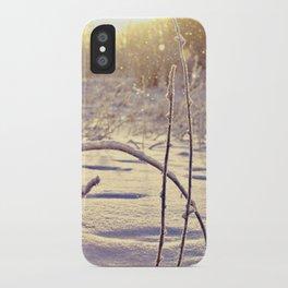 Alaskan Snowfall iPhone Case