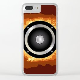 Speaker Clear iPhone Case