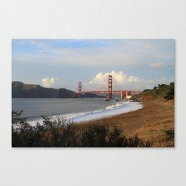 San Francisco Golden Gate Bridge Canvas Print