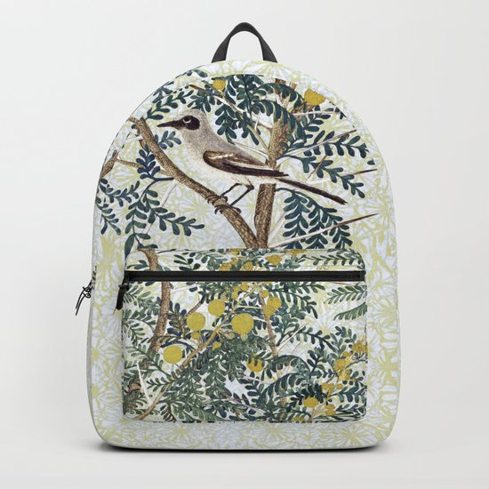 A bird in the bush Backpack